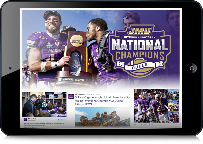 James Madison Football JMU